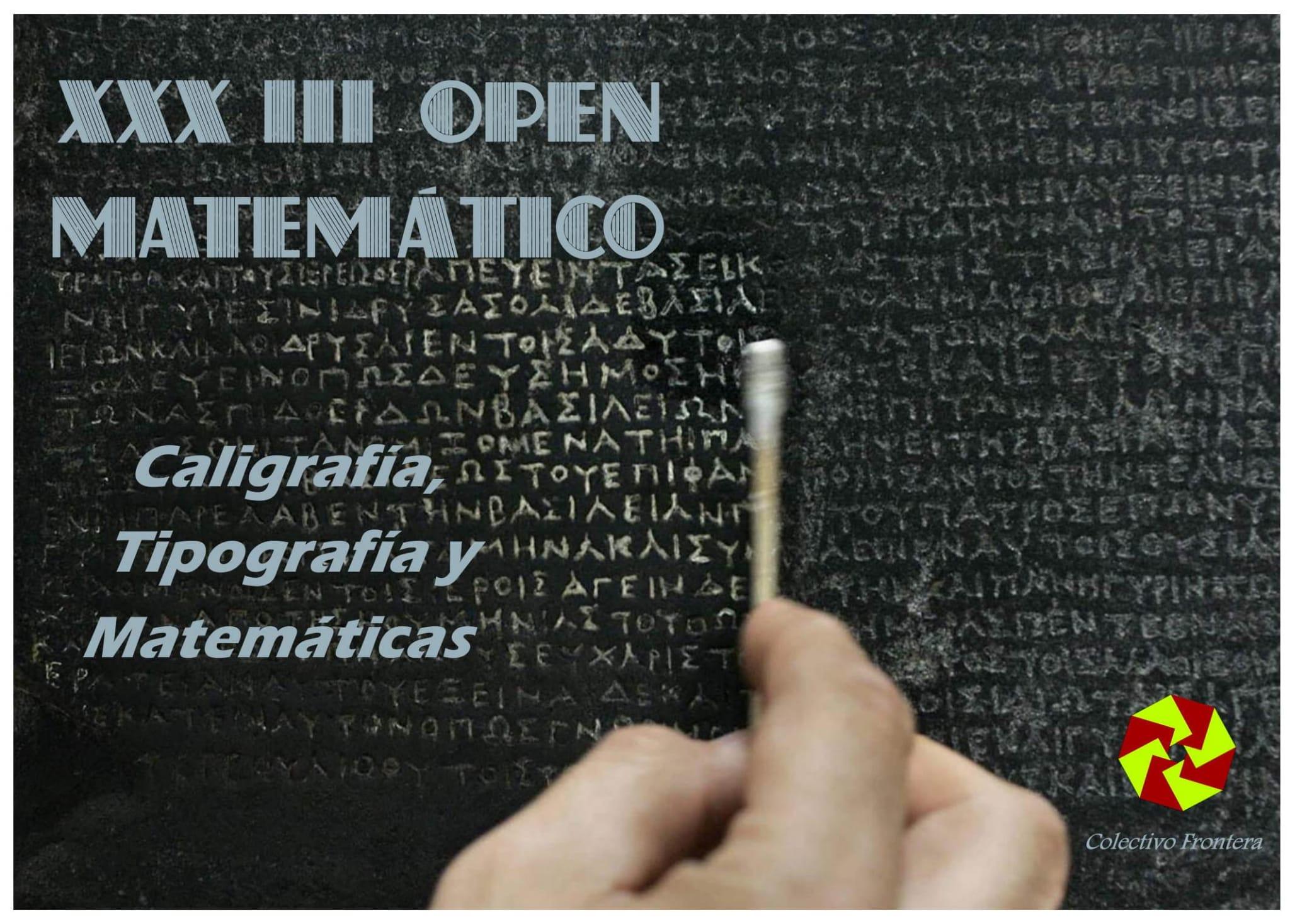 XXXIII OPEN MATEMATICO 2021